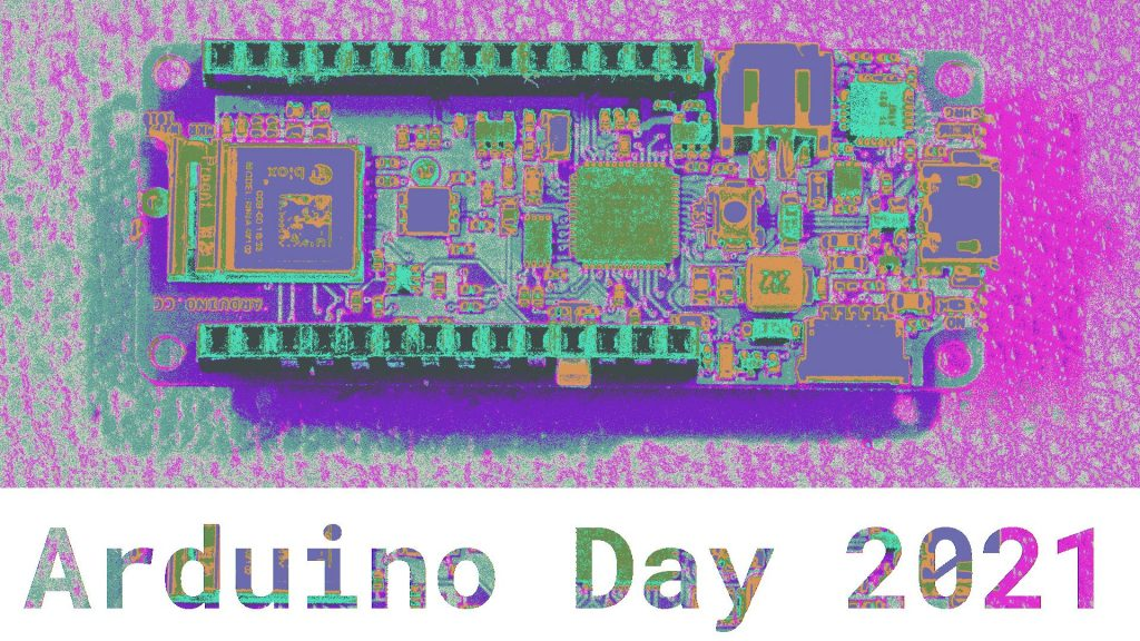Arduino Day 2021 graphic made using Wolfram Language image processing functions.